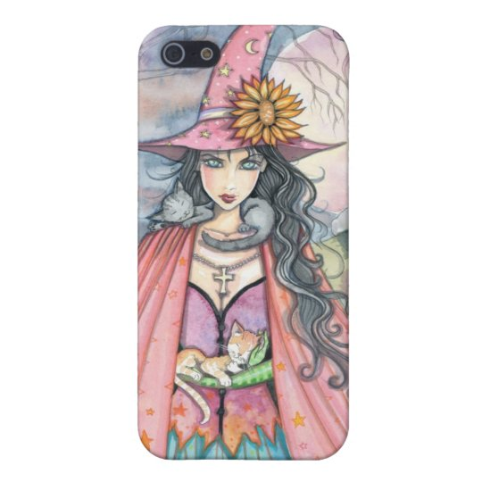Cat Lover Witch iPhone Case