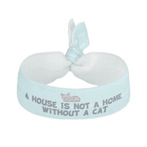 Cat Lover word art bracelet Hair Tie