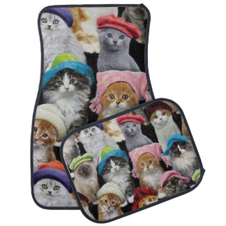 Cat Lovers Car Mats