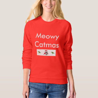 Cat Lovers Christmas Sweater