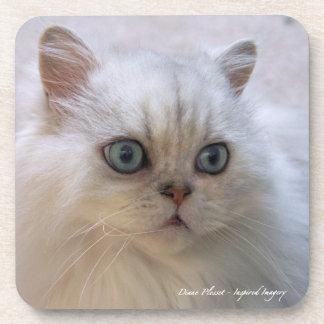 Cat-Lovers' Cork Coaster