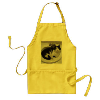 Cat lovers delight adult apron