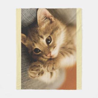 Cat Lovers Fleece Blanket