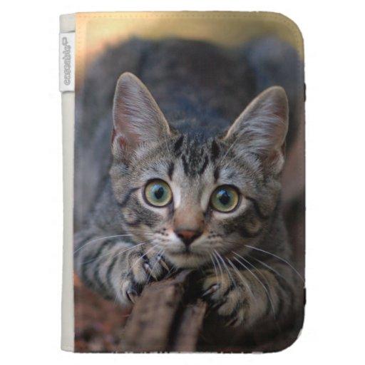 Cat Lover's Kindle Folio Kindle Case