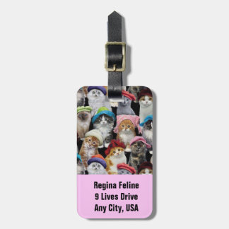 Cat Lovers Luggage Tags