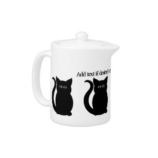 Cat lovers personal sized teapot