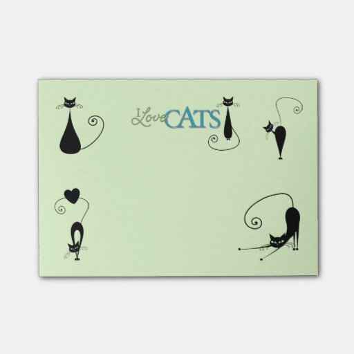 Cat Lover's Post-it® Notes