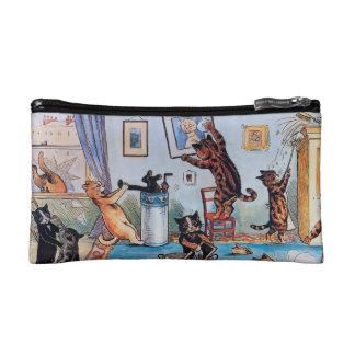 Cat Lover's Purse; Louis Wain's Cats Makeup Bag