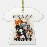 Cat Lover's T-Shirt Ornament