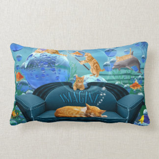 Cat Lover's Tabby Dreams Pillow