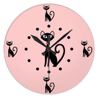 Cat Lovers Wall Clock