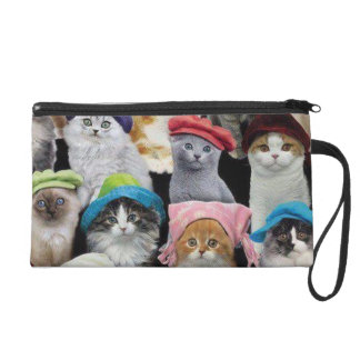 Cat Lovers Wristlet
