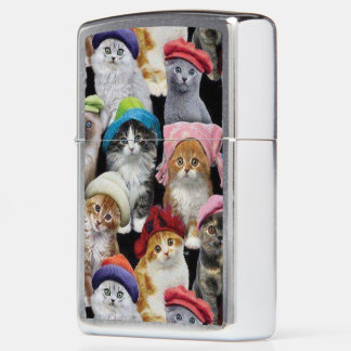 Cat Lovers ZIPPO® Pocket Lighter