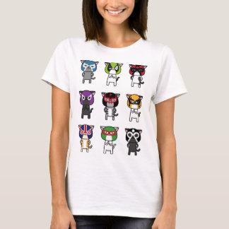 CAT LUCHADORES b T-Shirt