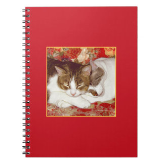 """""""Cat Luv #12"""" Notebook"""