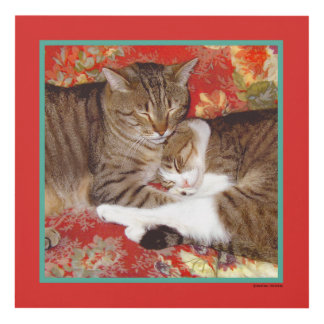 """Cat Luv #8"" Panel Wall Print"