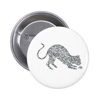 Cat made of Mice Pin