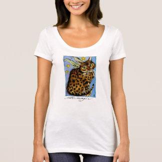 Cat Magic Ocicat Fairy tee shirt