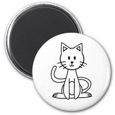 jasmineflynn Cat Magnet