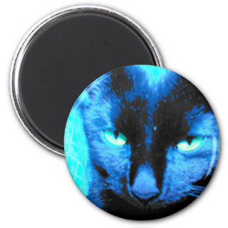 Cat Magnet: We are not amused 2 Inch Round Magnet