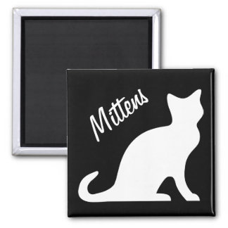 Cat magnets with your pet name