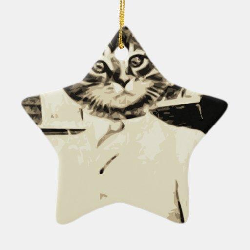 Cat Man Do Christmas Ornament