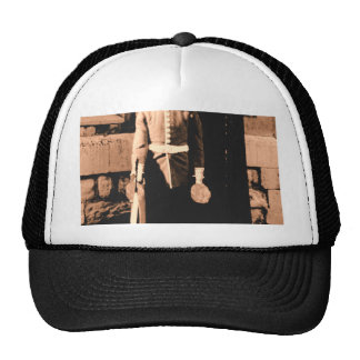 Cat Man Guard Trucker Hat