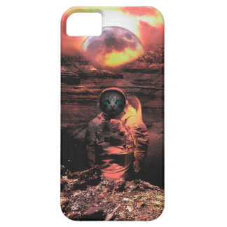 Cat Man Moon iPhone SE/5/5s Case