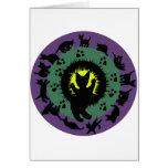 Cat Mandala Greeting Cards