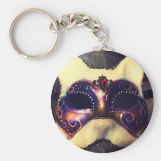 Cat Mask Keychain