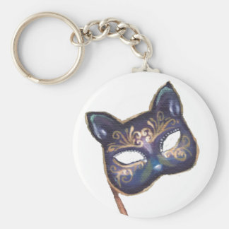 Cat Mask Keychain Venetian Mask Keychain