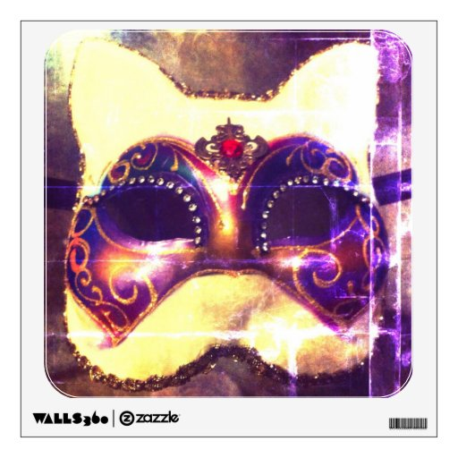 Cat Mask Wall Graphic