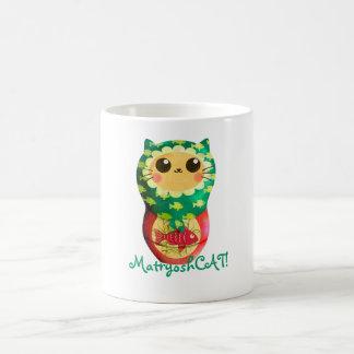 Cat Matryoshka Doll Coffee Mug