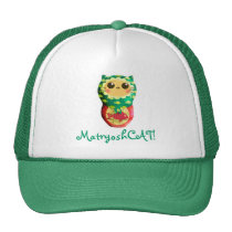 Cat Matryoshka Doll Trucker Hat