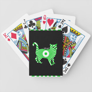 CAT MAYA AZTEC DRCHOS.COM CUSTOMIZABLE PRODUCTS BICYCLE PLAYING CARDS