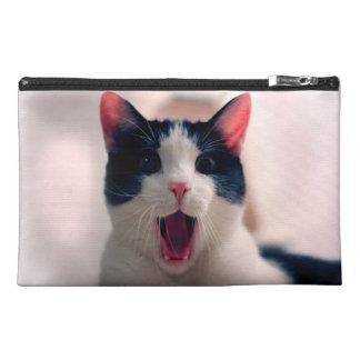 Cat meme - cat funny - funny cat memes - memes cat travel accessory bag