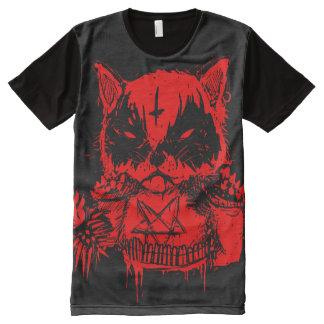 CAT METAL All-Over PRINT T-SHIRT
