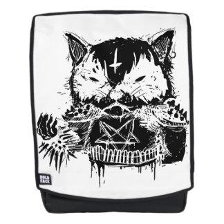 Cat Metal Backpack