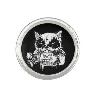 Cat Metal Photo Ring