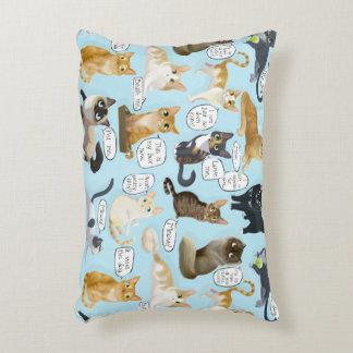 Cat Mewsings Pillow