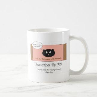 Cat milk chocolate bar mug