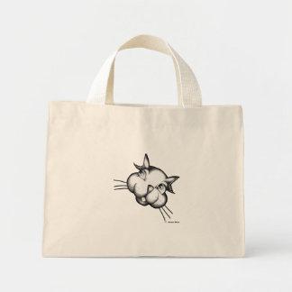 Cat Mini Tote Bag