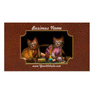 Cat - Mischief makers 1915 Double-Sided Standard Business Cards (Pack Of 100)