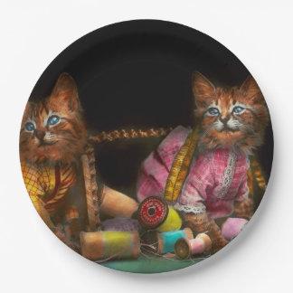 Cat - Mischief makers 1915 Paper Plate