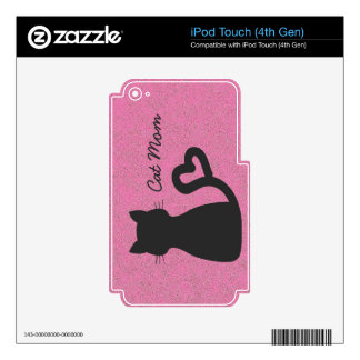 Cat Mom iPod Touch (4th Gen) Skin iPod Touch 4G Decal