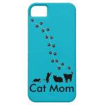 Cat Mom Phone Case iPhone 5 Cases