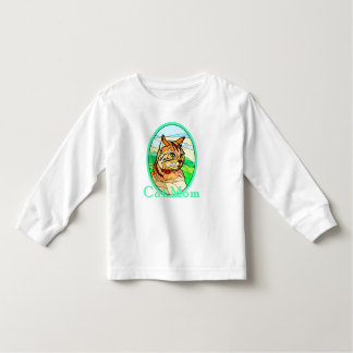 Cat Mom Stained Glass 1 Toddler T-shirt
