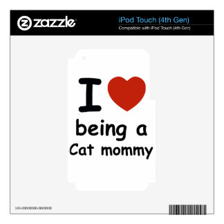 cat mommy design decal for iPod touch 4G