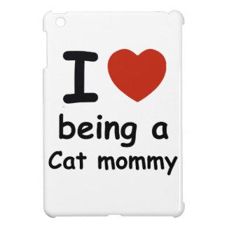 cat mommy design iPad mini cases