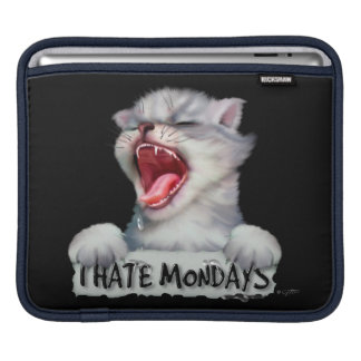 CAT MONDAY CUTE CARTOON iPad H Sleeve For iPads